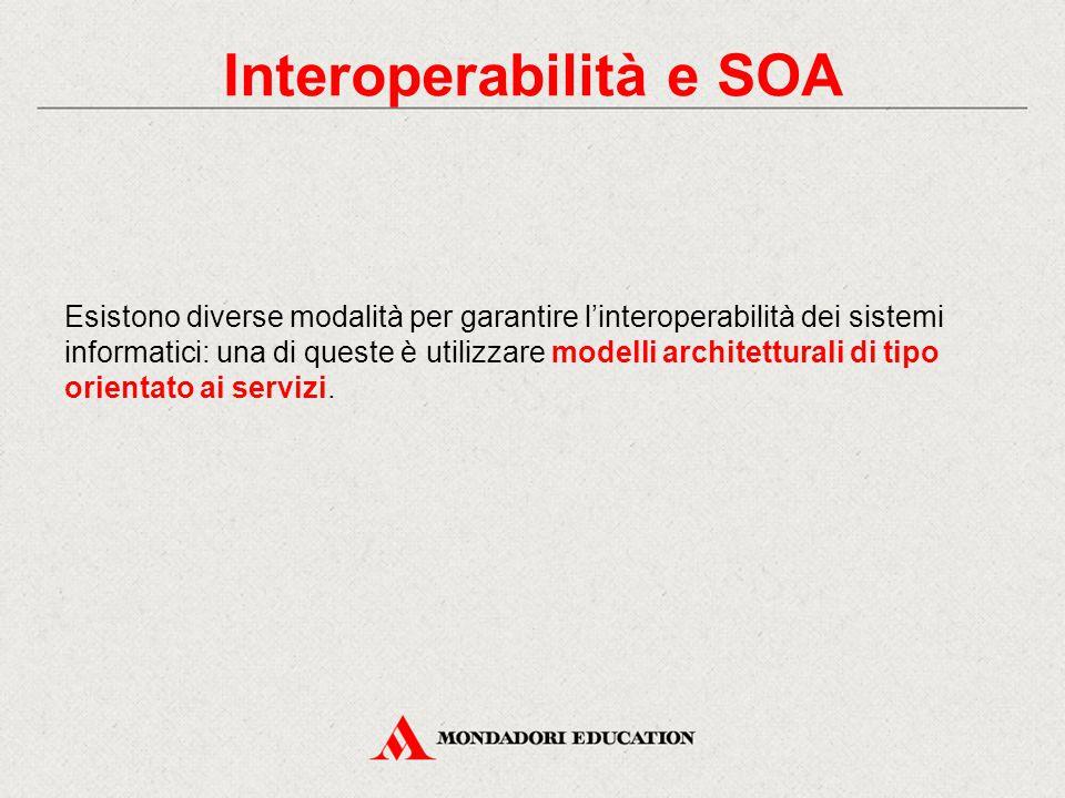 Interoperabilità e SOA