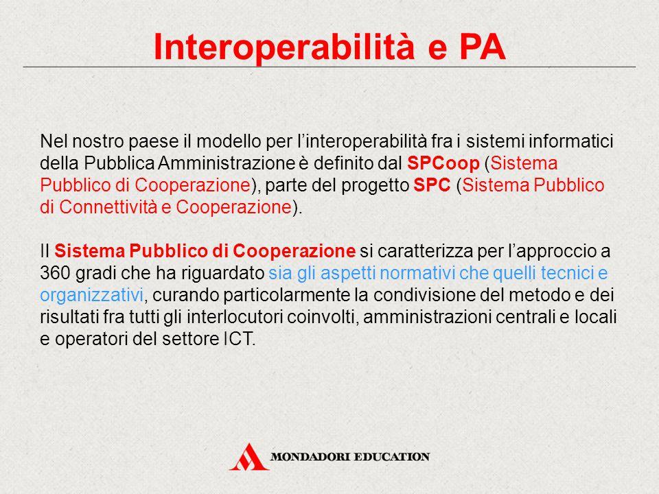 Interoperabilità e PA