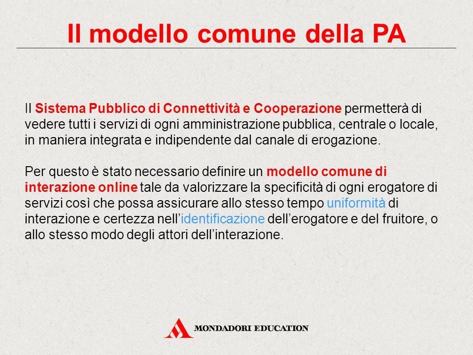 Il modello comune della PA
