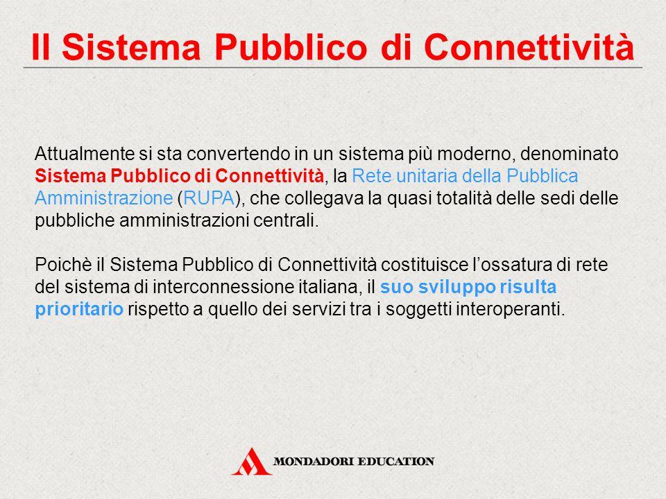 Il Sistema Pubblico di Connettività