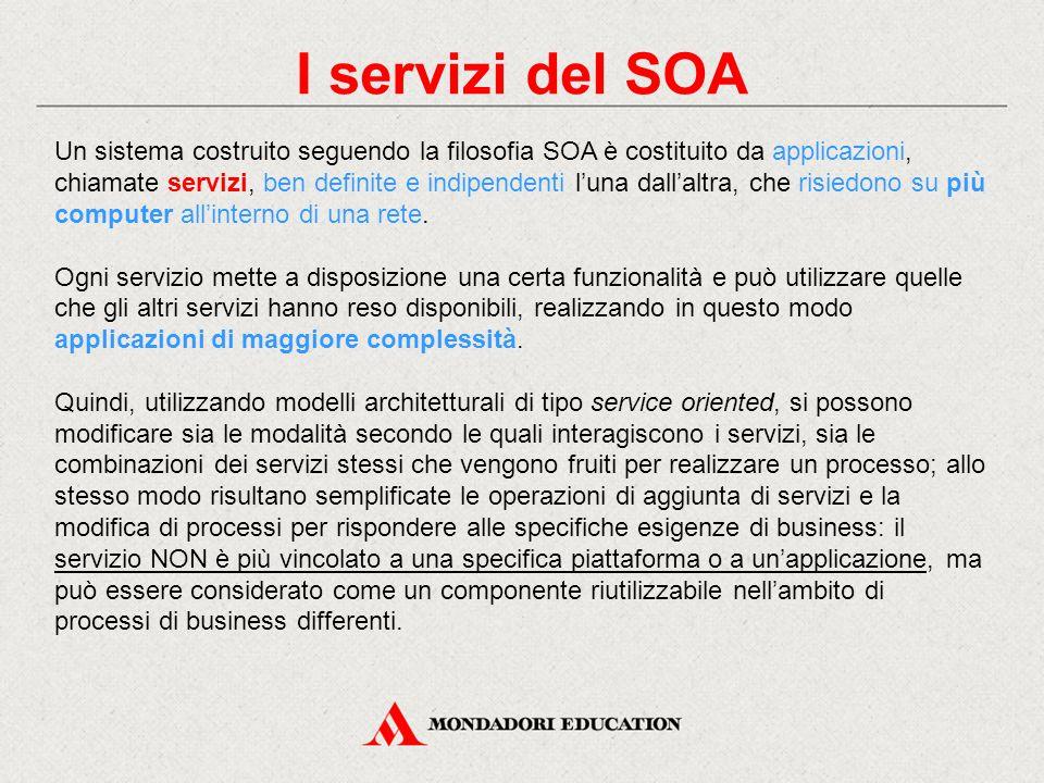 I servizi del SOA