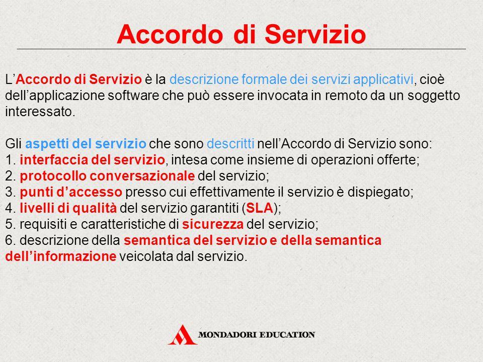 Accordo di Servizio