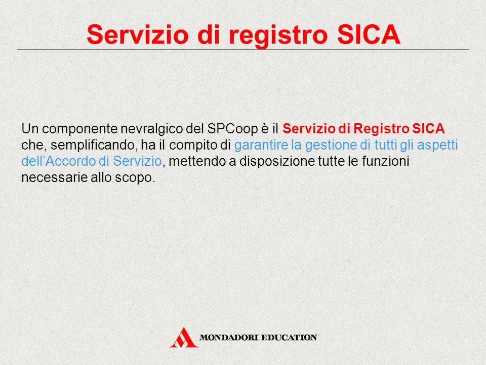 Servizio di registro SICA