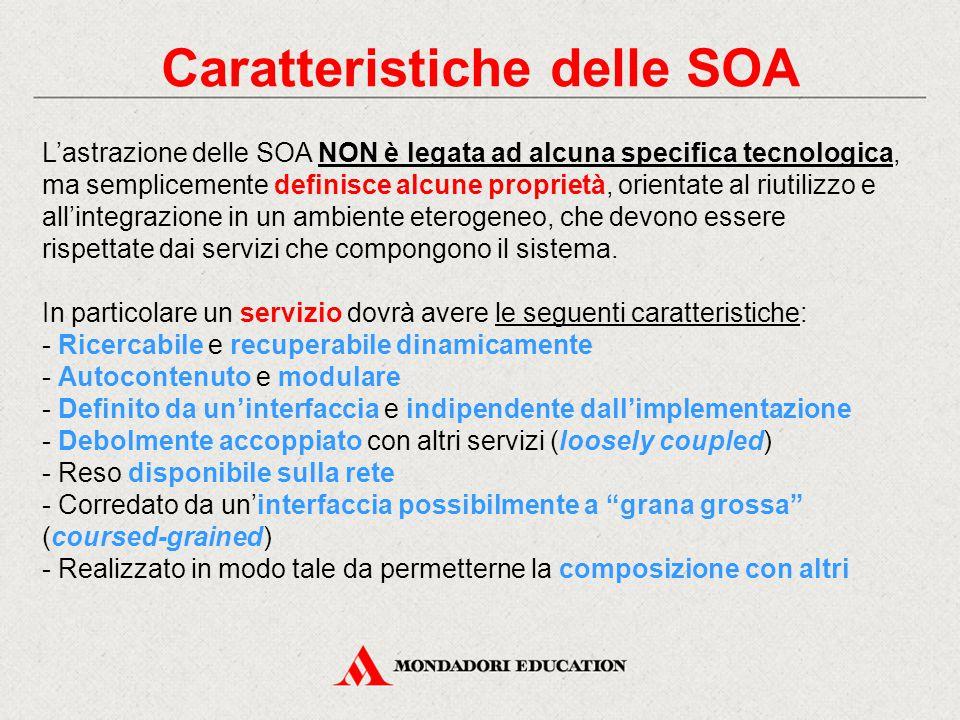 Caratteristiche delle SOA