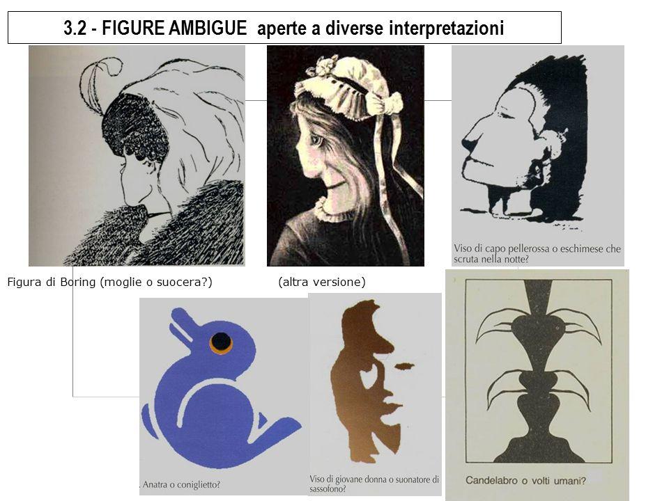 3.2 - FIGURE AMBIGUE aperte a diverse interpretazioni