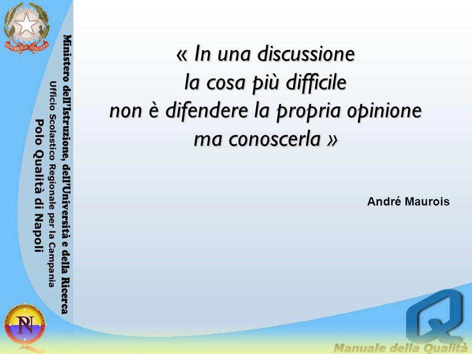 « In una discussione la cosa più difficile non è difendere la propria opinione ma conoscerla »