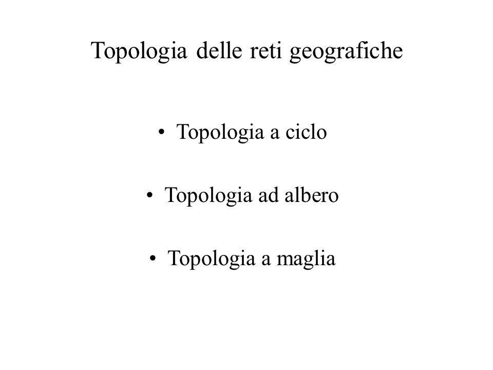 Topologia delle reti geografiche