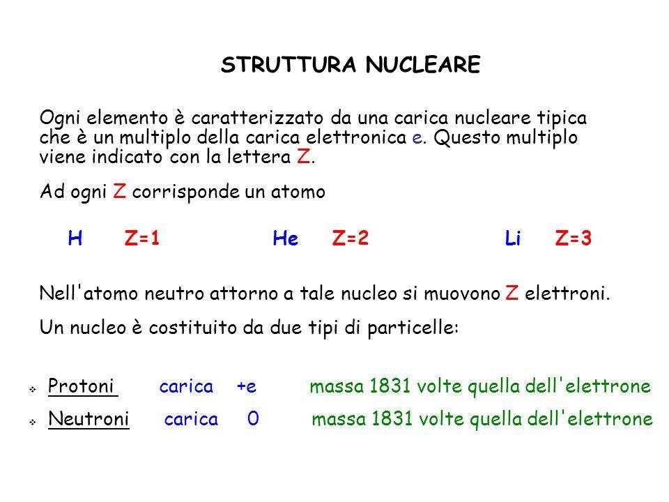 STRUTTURA NUCLEARE