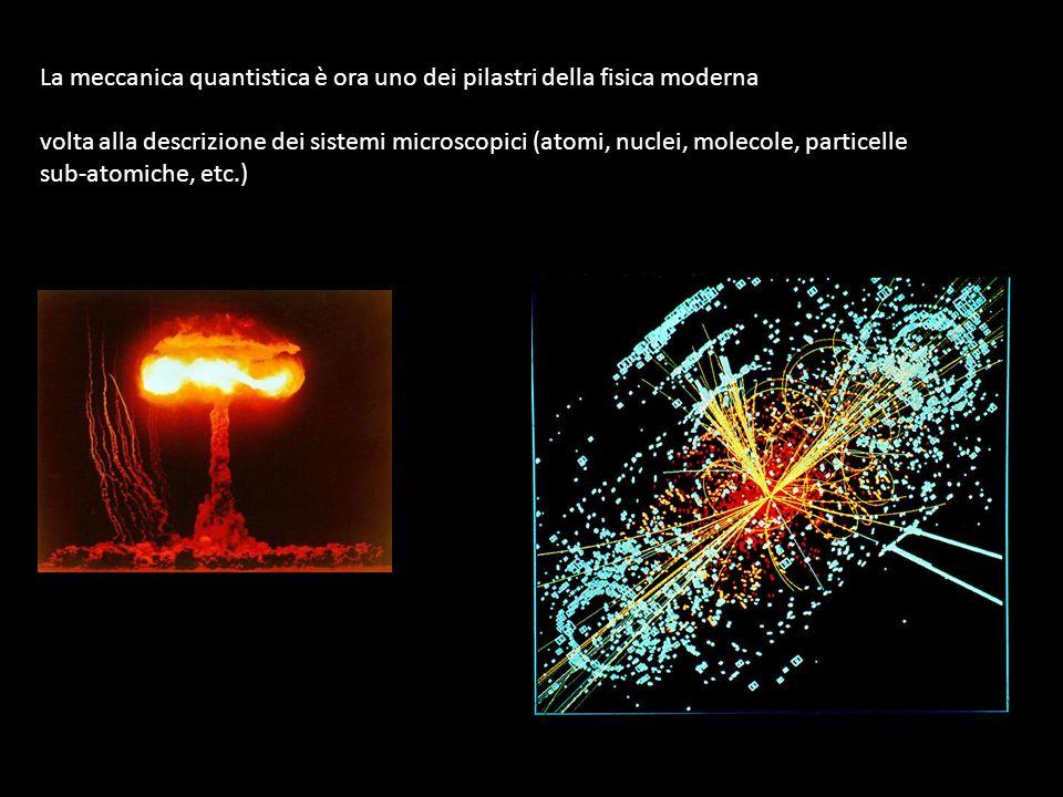 La meccanica quantistica è ora uno dei pilastri della fisica moderna