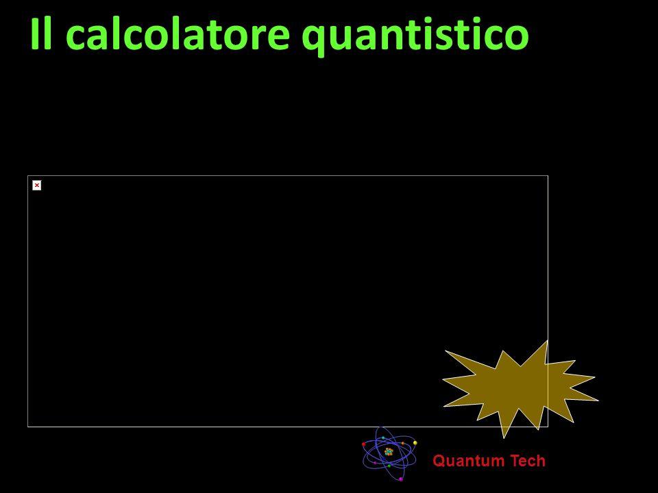 Il calcolatore quantistico
