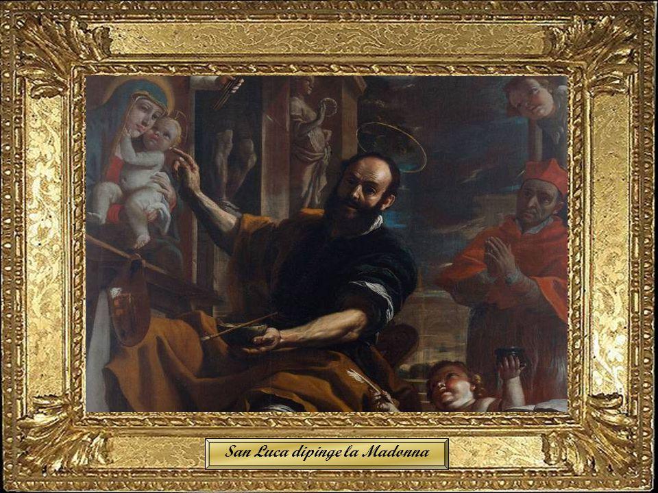 San Luca dipinge la Madonna