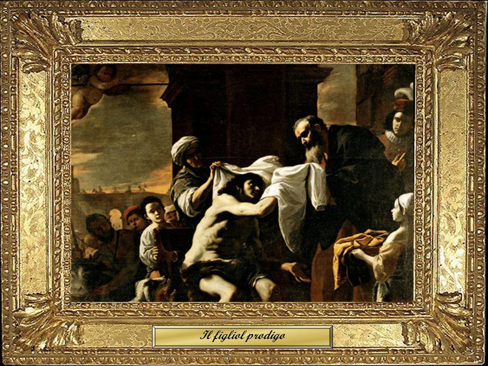 San Luca dipinge la Madonna Il figliol prodigo