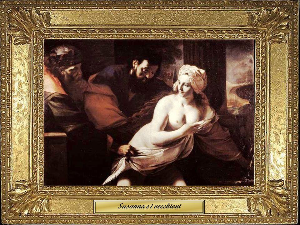 San Luca dipinge la Madonna Susanna e i vecchioni
