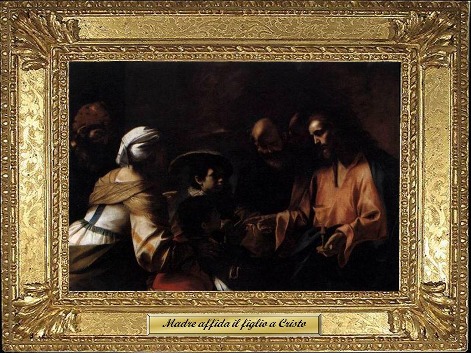 Madre affida il figlio a Cristo