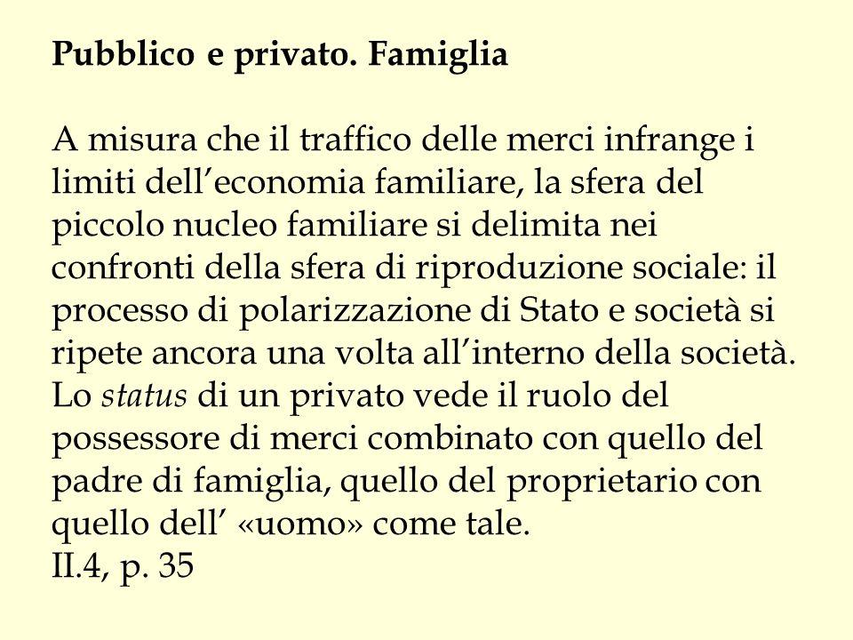 Pubblico e privato.