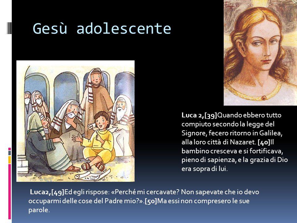 Gesù adolescente