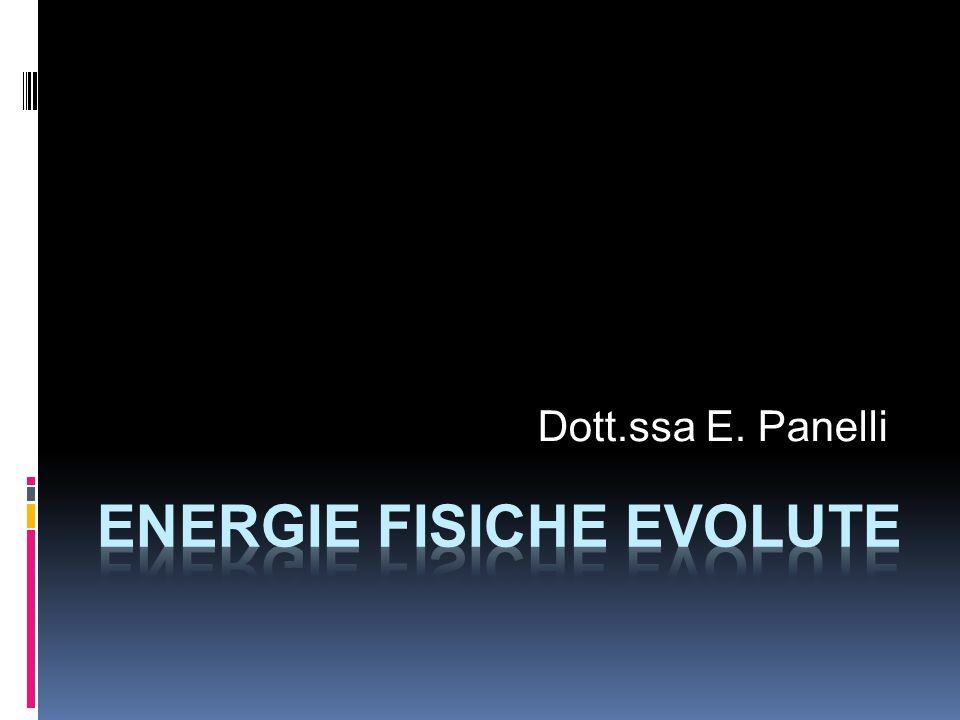 ENERGIE FISICHE EVOLUTE
