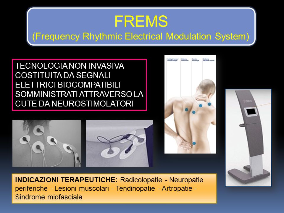 FREMS (Frequency Rhythmic Electrical Modulation System)
