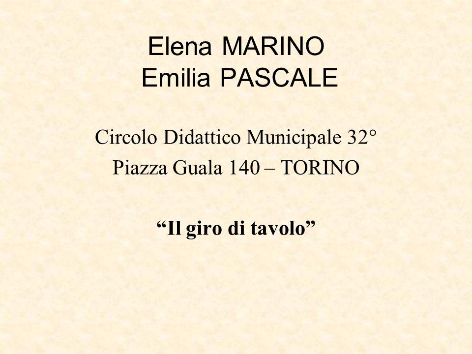 Elena MARINO Emilia PASCALE