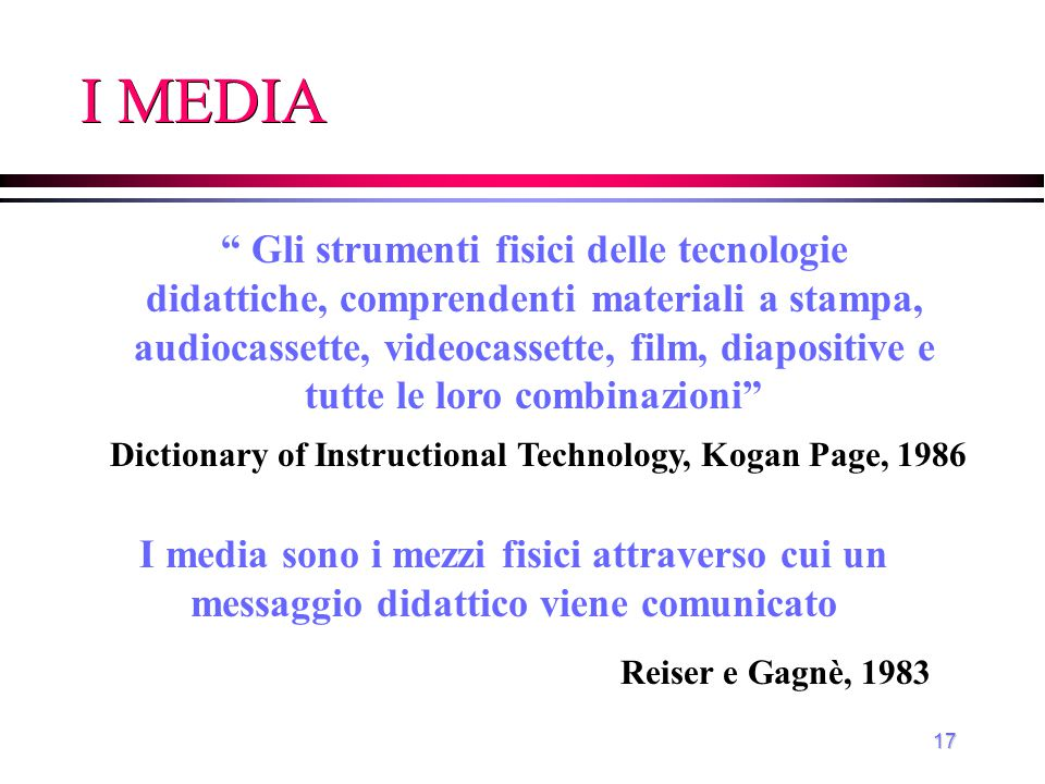 Dictionary of Instructional Technology, Kogan Page, 1986