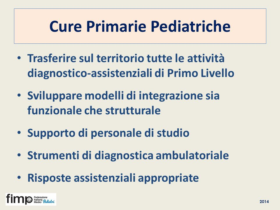 Cure Primarie Pediatriche