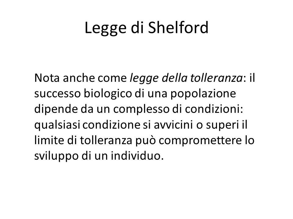 Legge di Shelford