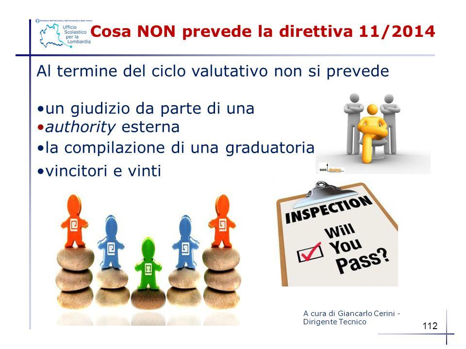 Cosa NON prevede la direttiva 11/2014