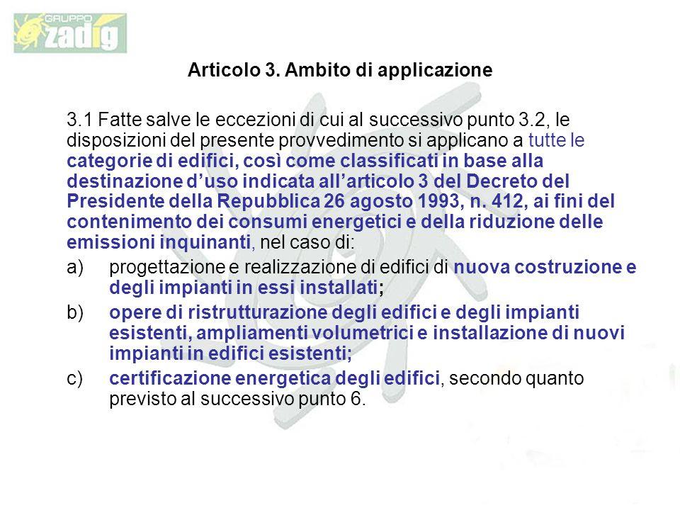 Articolo 3. Ambito di applicazione