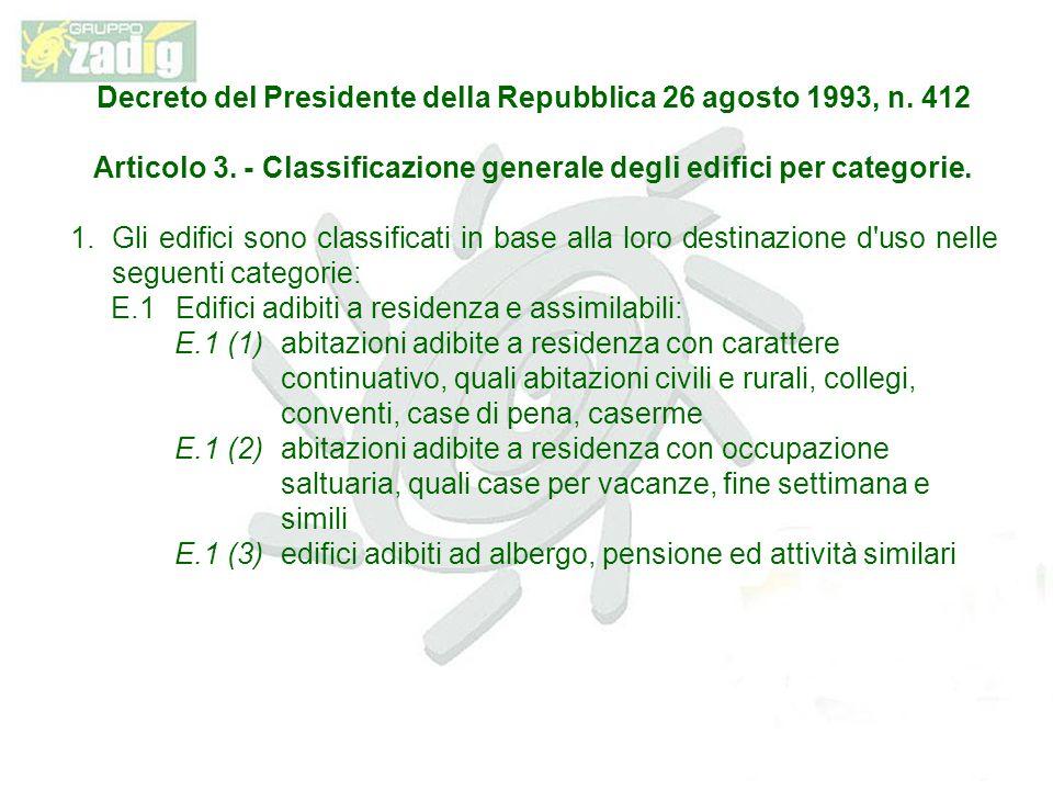 Decreto del Presidente della Repubblica 26 agosto 1993, n. 412