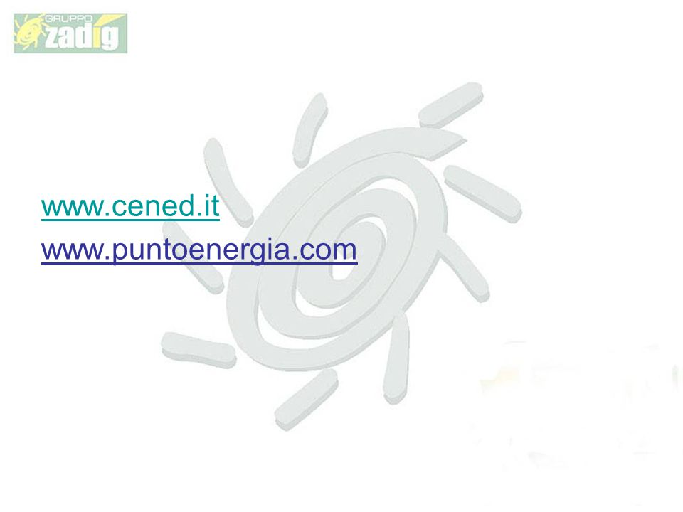 www.cened.it www.puntoenergia.com