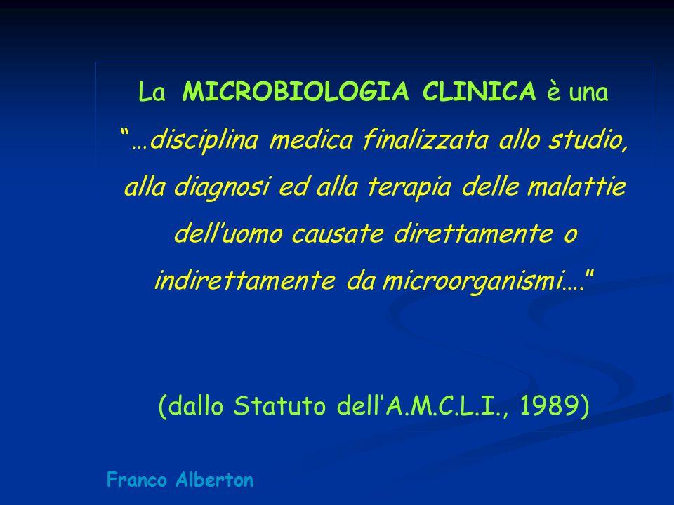 (dallo Statuto dell'A.M.C.L.I., 1989)
