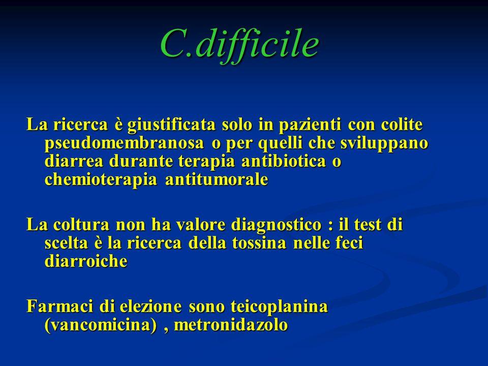 C.difficile