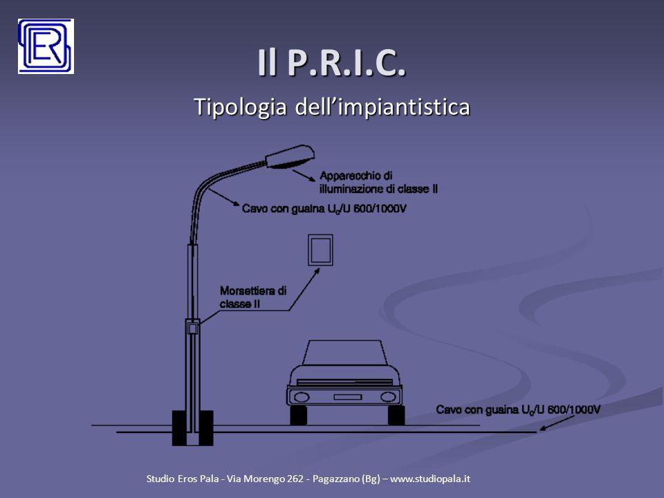 Tipologia dell'impiantistica