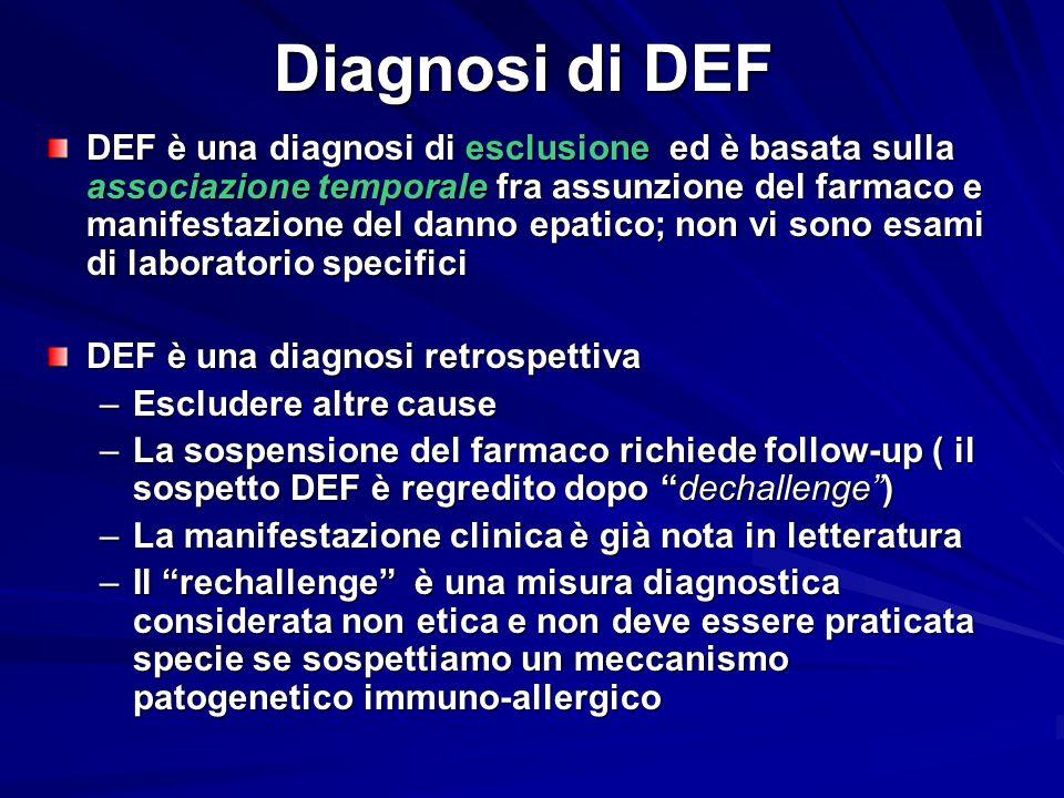 Diagnosi di DEF