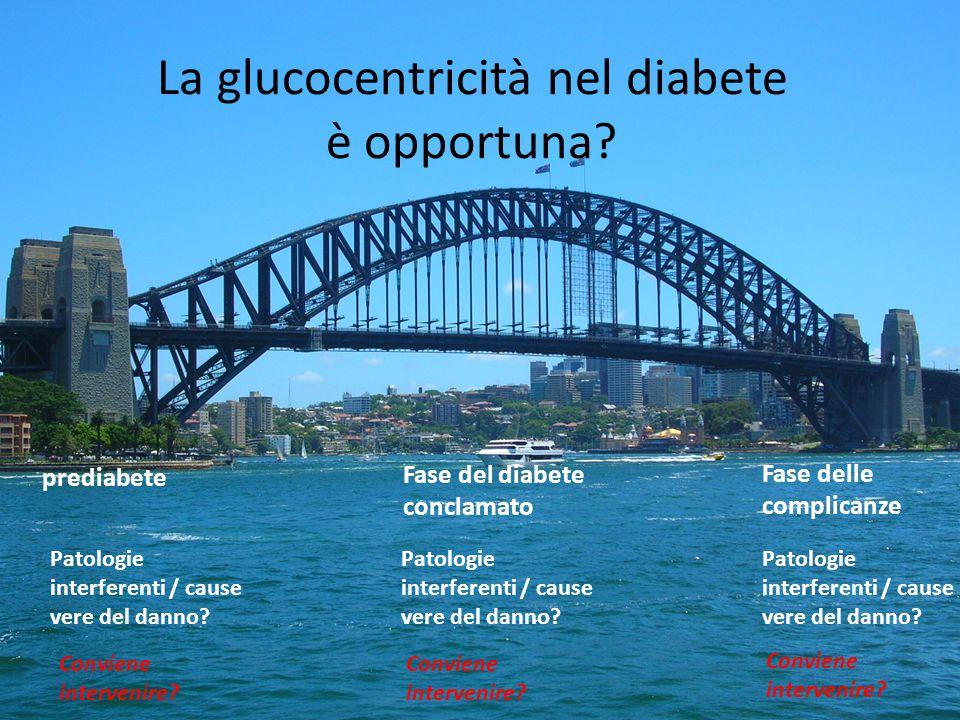La glucocentricità nel diabete è opportuna
