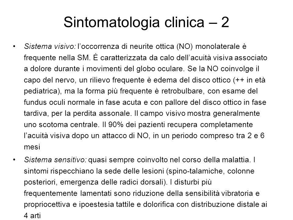 Sintomatologia clinica – 2