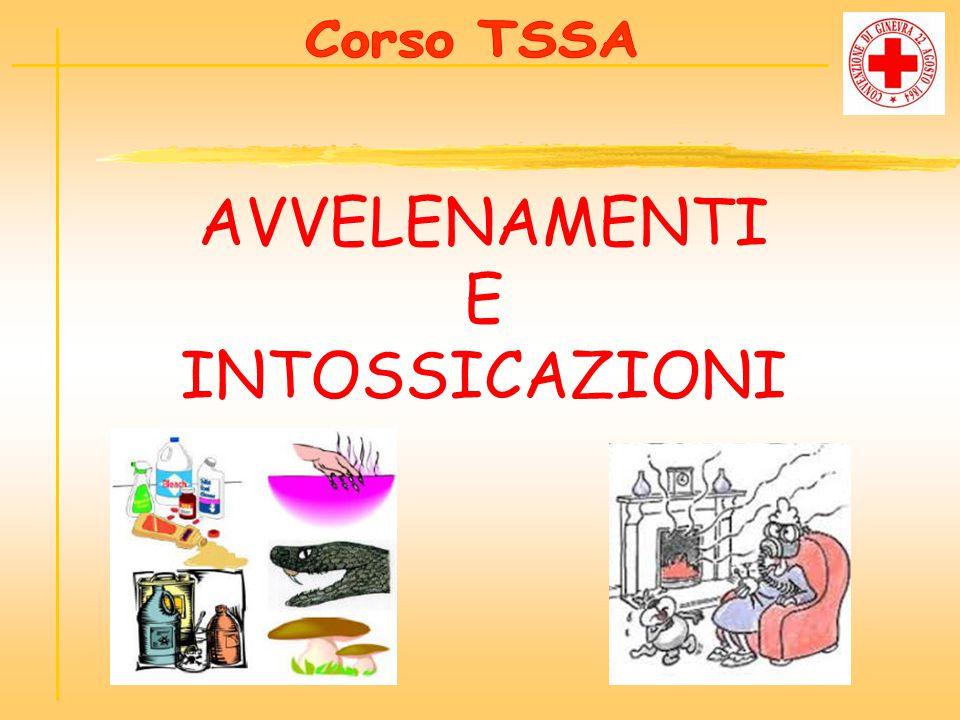 Corso TSSA AVVELENAMENTI E INTOSSICAZIONI