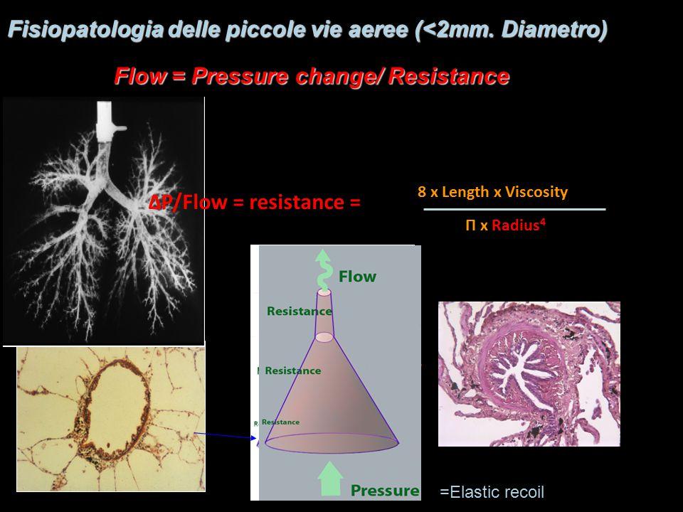 Fisiopatologia delle piccole vie aeree (<2mm. Diametro)