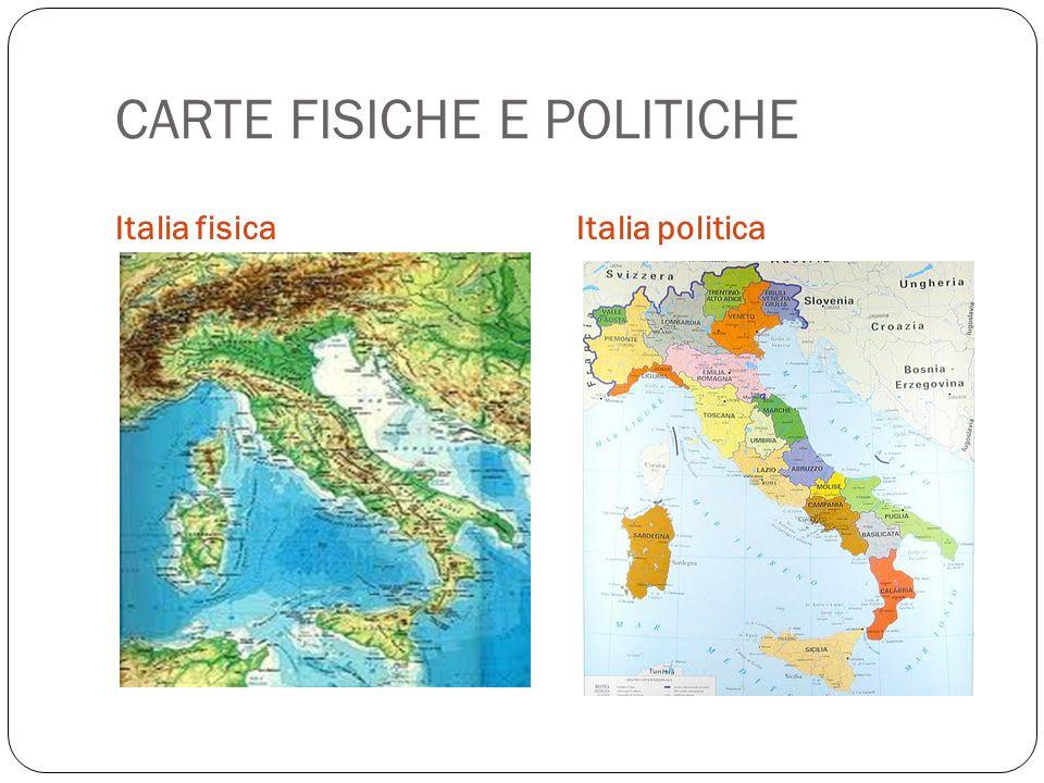 CARTE FISICHE E POLITICHE