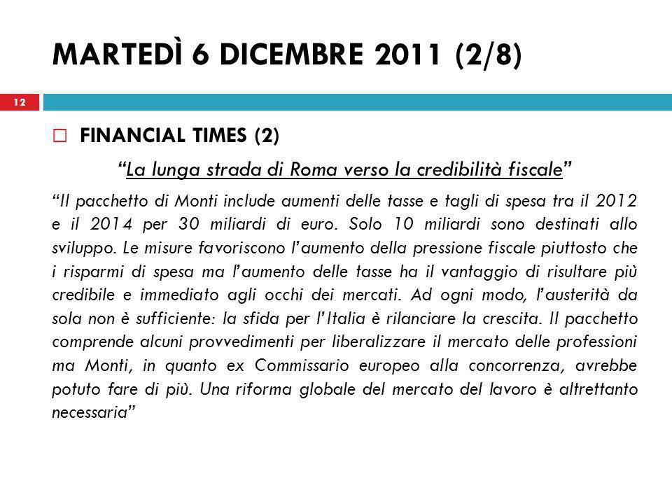 La lunga strada di Roma verso la credibilità fiscale