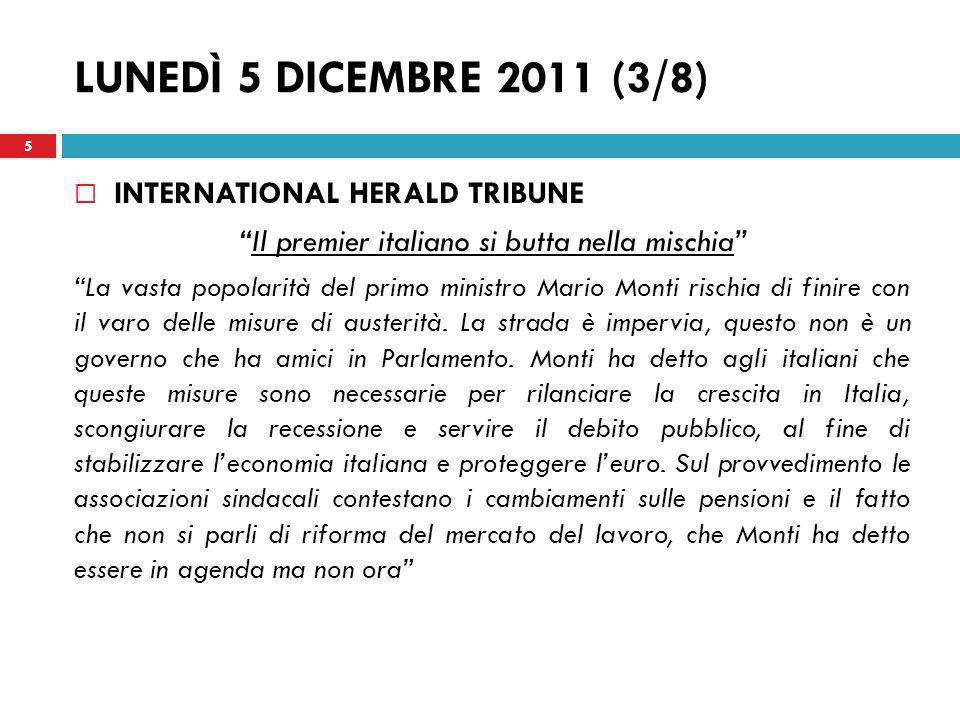 Il premier italiano si butta nella mischia