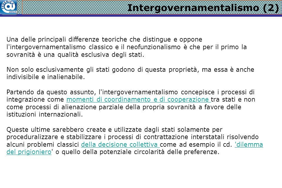 Intergovernamentalismo (2)