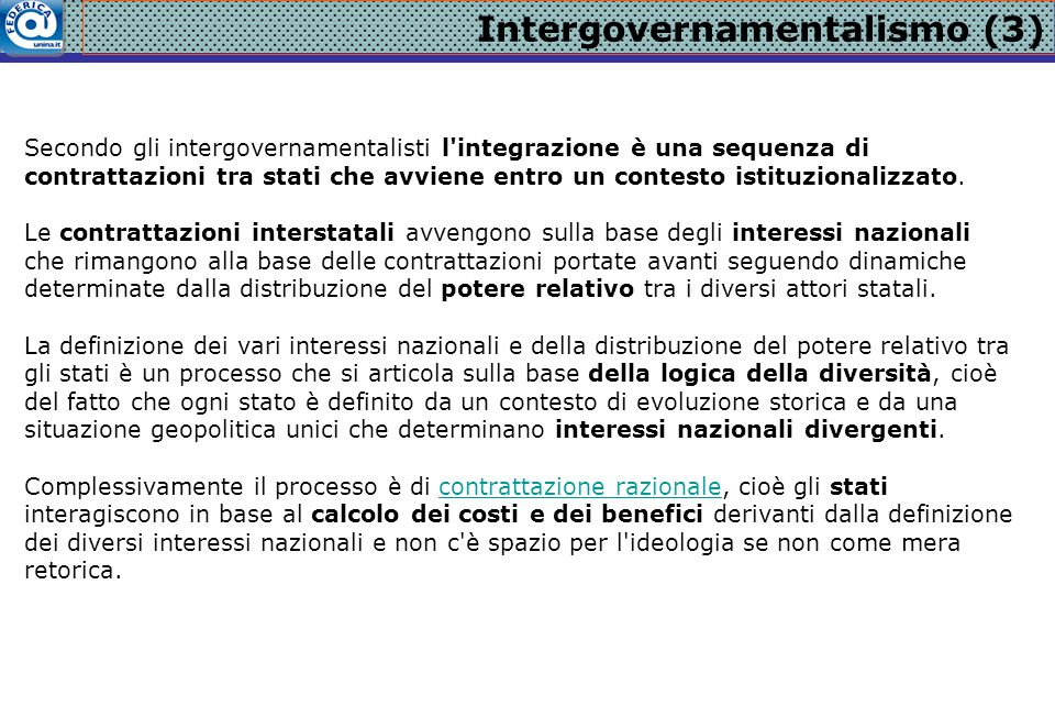 Intergovernamentalismo (3)