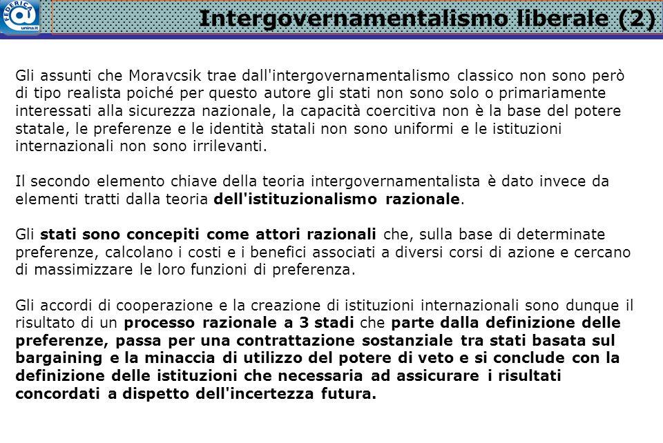 Intergovernamentalismo liberale (2)