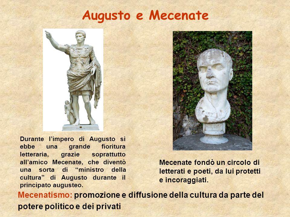 Augusto e Mecenate