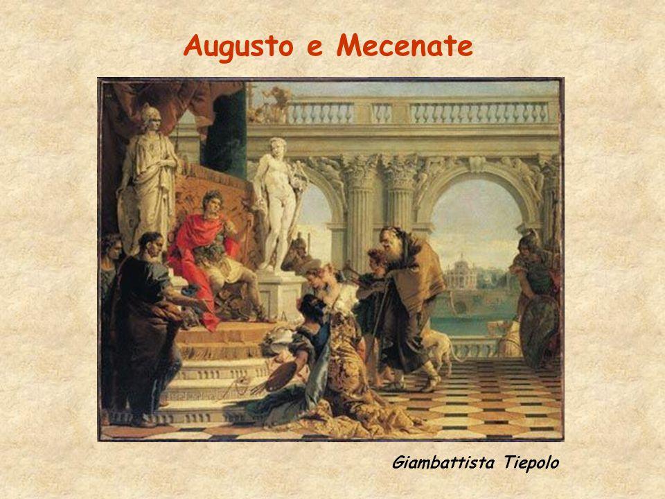 Augusto e Mecenate Giambattista Tiepolo