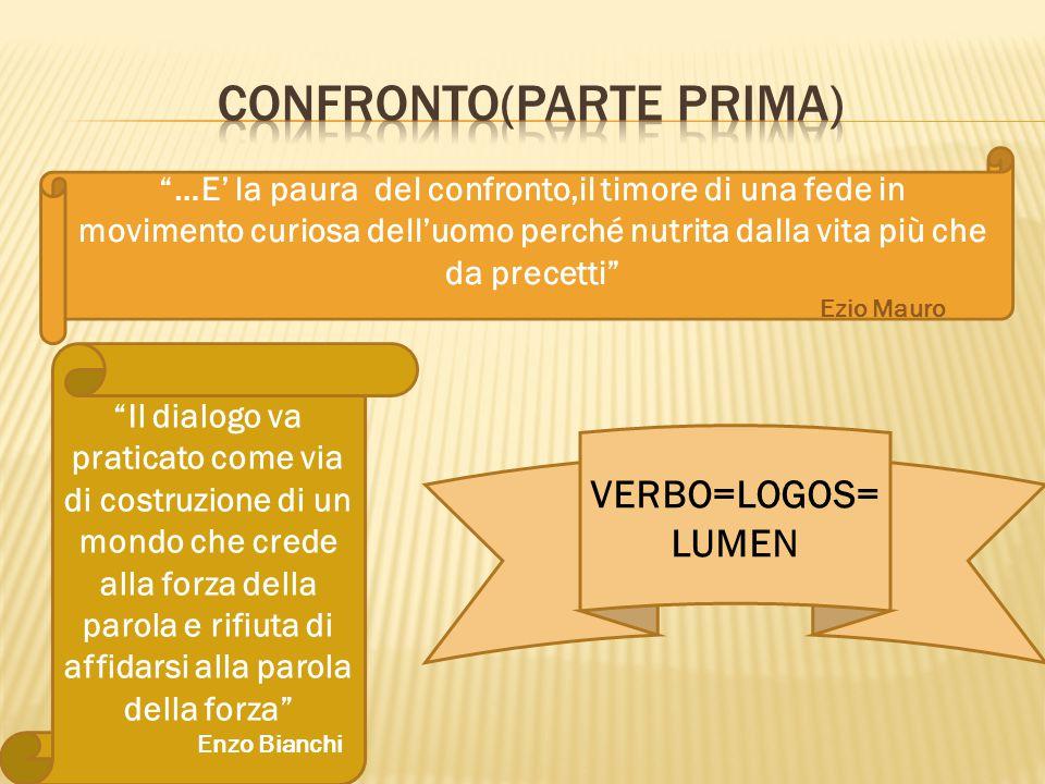Confronto(PARTE PRIMA)