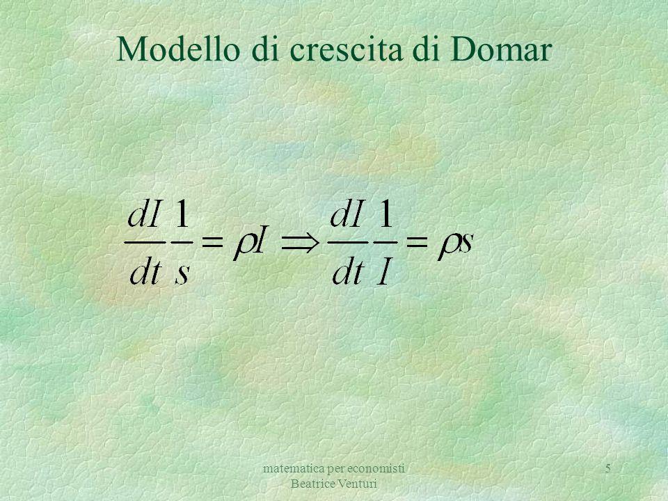 Modello di crescita di Domar