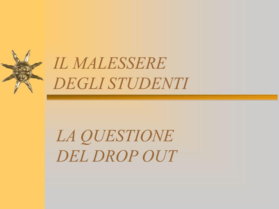 IL MALESSERE DEGLI STUDENTI