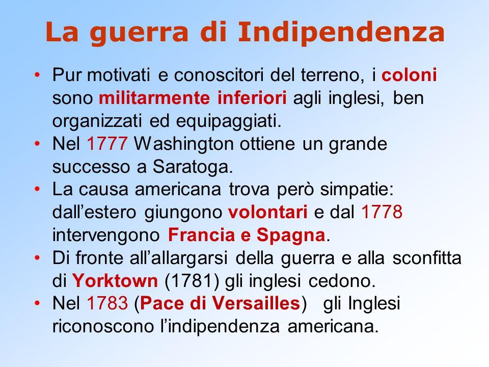 La guerra di Indipendenza